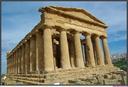 SICILE-Agrigento-vallée des temples